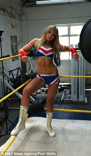 female wrestler
