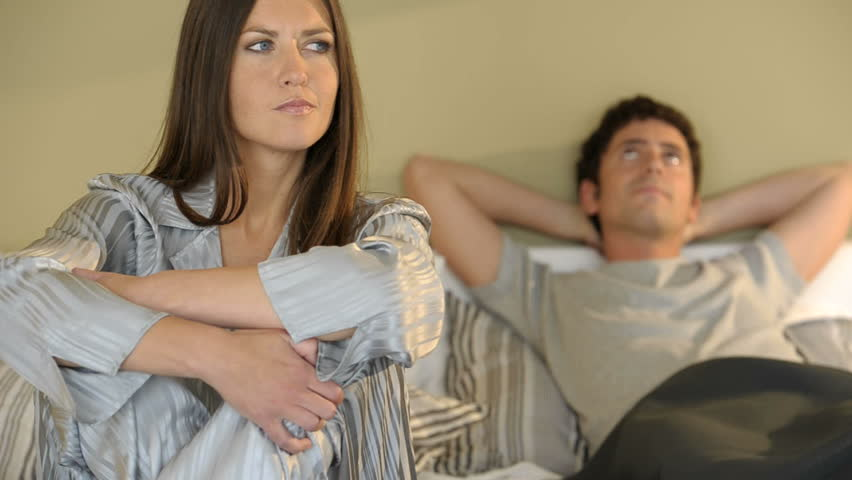 woman and man frustrated